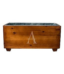 Image of Cathy's Concepts Initial Wooden Wine Trough