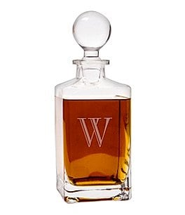 Image of Cathy's Concepts Personalized 32-oz. Square Whiskey Decanter
