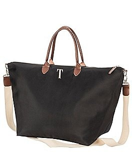 Image of Cathy's Concepts Personalized Black Microfiber Weekender Tote