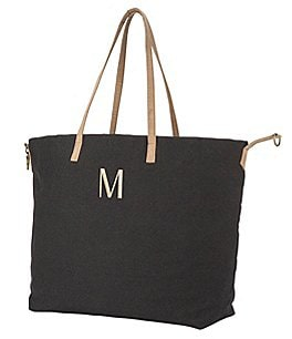 Image of Cathy's Concepts Personalized Black Overnight Tote