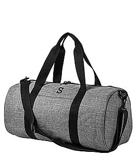 Image of Cathy's Concepts Personalized Grey Duffle