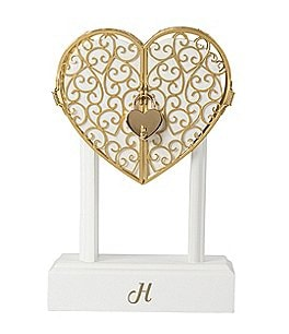 Image of Cathy's Concepts Personalized Heart Vow Unity Keepsake