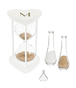 Image of Cathy's Concepts Personalized Unity Sand Ceremony Hourglass Set