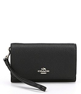 Image of COACH BOXED PHONE CLUTCH