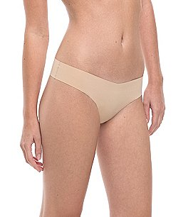Image of Commando Microfiber Low-Rise Thong
