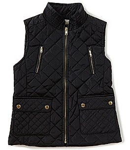 Image of Copper Key Little Girls 2T-6X Quilted Vest