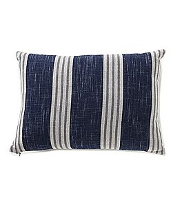 Image of Cremieux Andrew Striped Grindle & Percale Pillow