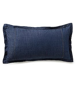 Image of Cremieux Denim Breakfast Pillow