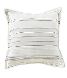 Image of Cremieux Fallon Striped Square Pillow