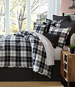 Image of Cremieux Ramsey Flannel Plaid Comforter Mini Set