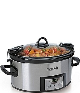 Image of Crock Pot Cook & Carry Countdown 6-Quart Slow Cooker