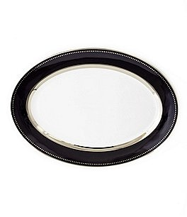Image of Darbie Angell Black Luxe Oval Platter