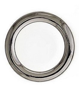 Image of Darbie Angell Monaco Platinum Salad Plate