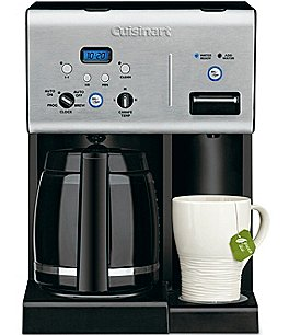 Image of Cuisinart Coffee Plus 12-Cup Programmable Coffeemaker & Hot Water System