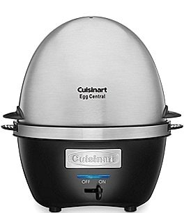 Image of Cuisinart Egg Central Brushed Stainless Steel Egg Cooker
