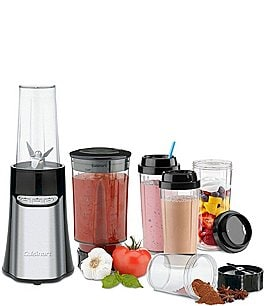 Image of Cuisinart SmartPower Stainless Steel 15-Piece Personal Blender