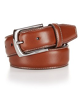 Image of Daniel Cremieux Glazed Leather Belt