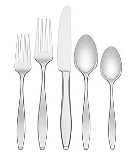 Image of Dansk Malin 20-Piece Stainless Steel Flatware Set