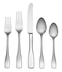 Image of Dansk Sixten 20-Piece Stainless Steel Flatware Set