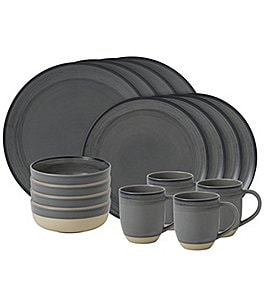Image of ED Ellen DeGeneres Crafted by Royal Doulton Brushed Glaze 16-Piece Dinnerware Set