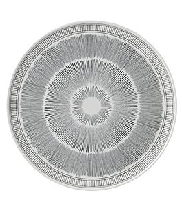 Image of ED Ellen Degeneres Crafted by Royal Doulton Grey Lines Collection Round Platter