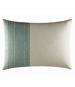 Image of ED Ellen DeGeneres Eden Pinstripe-Embroidered Breakfast Pillow