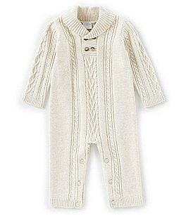 Image of Edgehill Collection Baby Boys Newborn-6 Months Long Sleeve Coverall