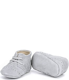 Image of Edgehill Collection Baby Boys' Oxford Suede Crib Shoes