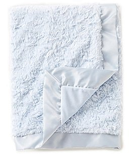 Image of Edgehill Collection Baby Boys Satin-Trim Blanket
