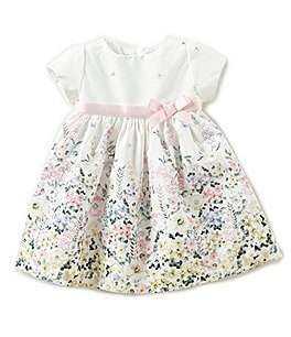 Image of Edgehill Collection Baby Girls 3-24 Months Floral-Print Dress