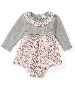 Image of Edgehill Collection Baby Girls Newborn-24 Months Laura Sweater Knit Dress