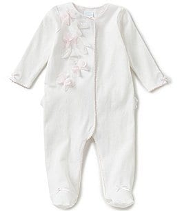 Image of Edgehill Collection Baby Girls Newborn-6 Months Footed Coverall