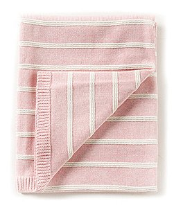 Image of Edgehill Collection Baby Girls Striped Blanket