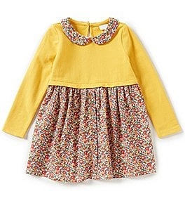 Image of Edgehill Collection Little Girls 2T-4T Made With Liberty Fabrics Dress