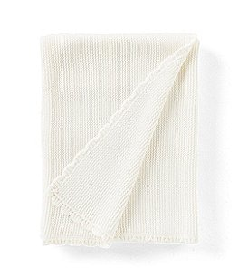 Image of Edgehill Collection Scallop-Trim Blanket