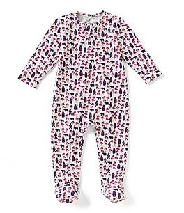 Image of Egg by Susan Lazar Baby Girls Newborn-6 Months Printed Footed Coverall