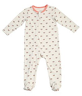 Image of Egg by Susan Lazar Baby Newborn-6 Months Fox-Print Coverall