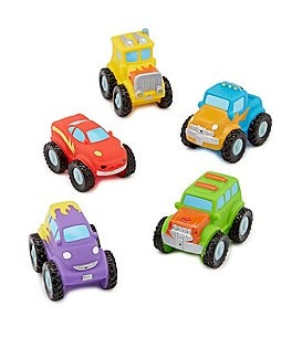 Image of Elegant Baby Baby Boys Monster Truck Bath Squirties