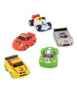 Image of Elegant Baby Baby Boys Race Car Bath Squirties