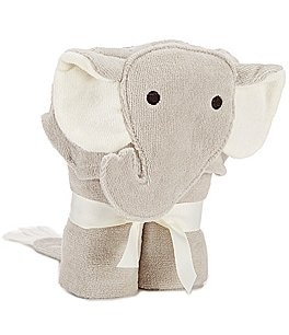 Image of Elegant Baby Elephant Hooded Bath Towel