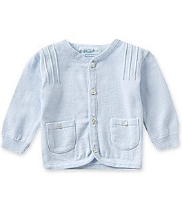 Image of Feltman Brothers Baby Boys 3-24 Months Knit Pocket Cardigan