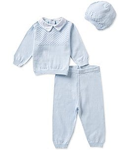 Image of Feltman Brothers Baby Boys Newborn-24 Months 3-Piece Sweater Set