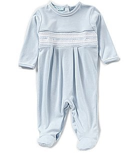 Image of Feltman Brothers Baby Boys Newborn-9 Months Diamond Smocked Coverall
