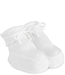 Image of Feltman Brothers Baby Girls' Newborn Knit Booties