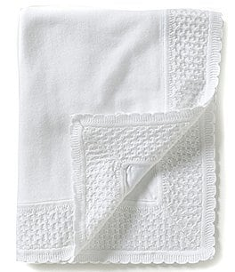 Image of Feltman Brothers Knit Diamond-Pattern Blanket