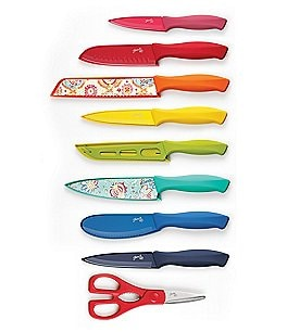 Image of Fiesta 17-Piece Solid & Decal Cutlery Set