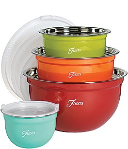 Image of Fiesta 8-Piece Mixing Bowl Set