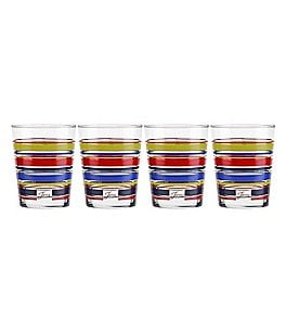 Image of Fiesta 4-Piece Farm Fresh Double Old Fashioned Glass Set