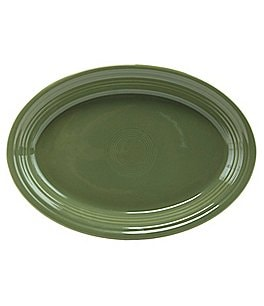 Image of Fiesta Oval Ceramic Platter