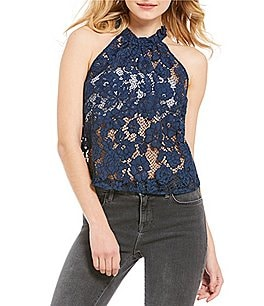 Image of Free People Sweet Meadow Dreams Lace Top